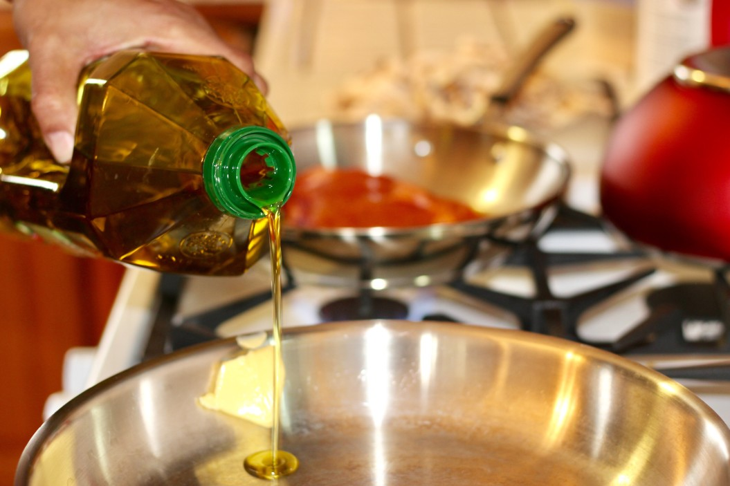 μαγειρεμένο λάδι